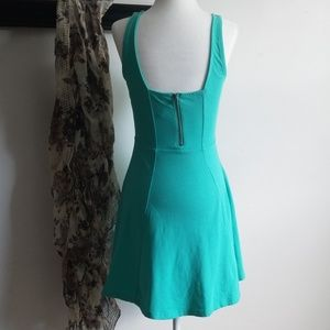 Express Dresses - Express Aqua Green Summer Dress